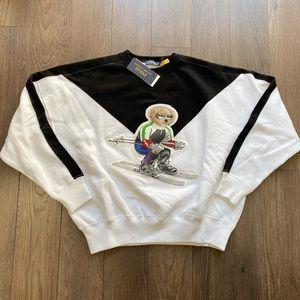 Polo Ralph Lauren Ski Bear Crewneck Sweater
